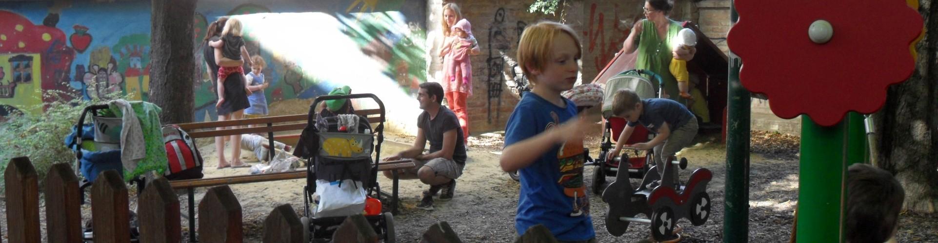 Kutschkermarkt: Kinderspielplatz