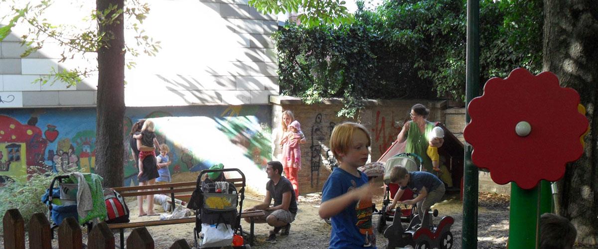Spielplatz, Kutschkermarkt