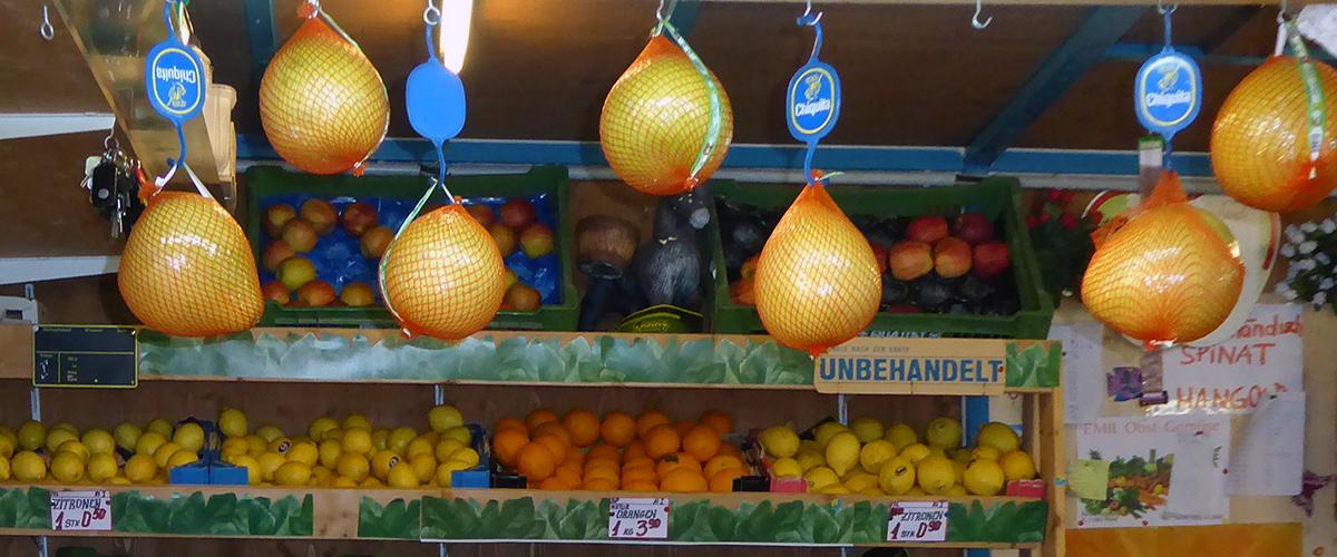 Kutschkermarkt: Frische Citrusfrüchte